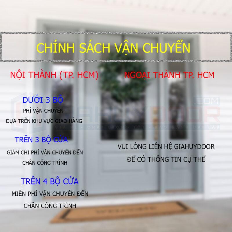 Chính sách vận chuyển cửa tại Giahuydoor