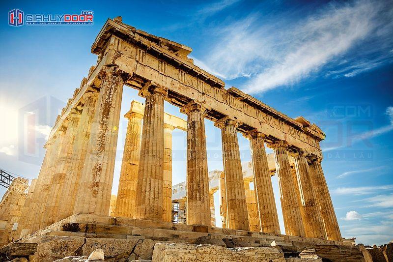 Kiến trúc Châu Âu Phục Hưng đền Pantheon