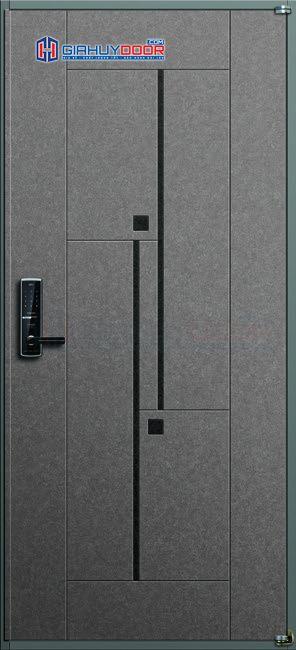 Cửa thép Hàn Quốc THQ RB-651-G_T