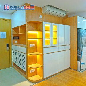 Nội thất tủ gỗ kệ gỗ TU 1