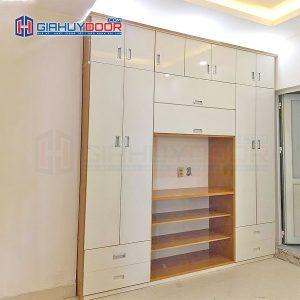 Nội thất tủ gỗ kệ gỗ TU 21