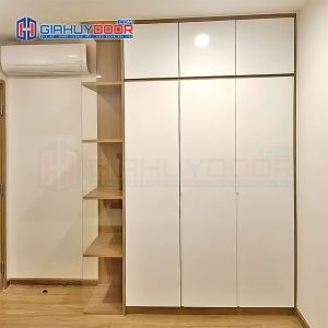 Nội thất tủ gỗ kệ gỗ TU 33