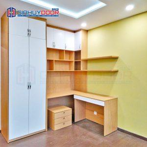 Nội thất tủ gỗ kệ gỗ TU 38