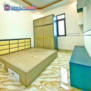 Nội thất tủ gỗ kệ gỗ TU 58