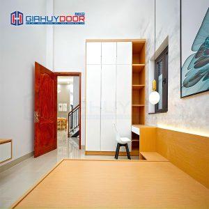 Nội thất tủ gỗ kệ gỗ TU 64
