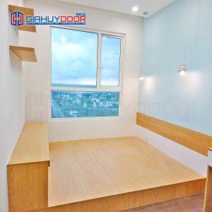 Nội thất tủ gỗ kệ gỗ TU 7