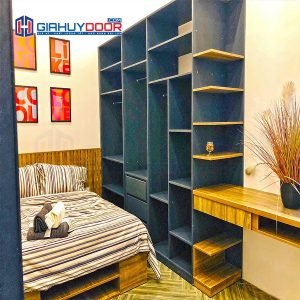 Nội thất tủ gỗ kệ gỗ TU 92