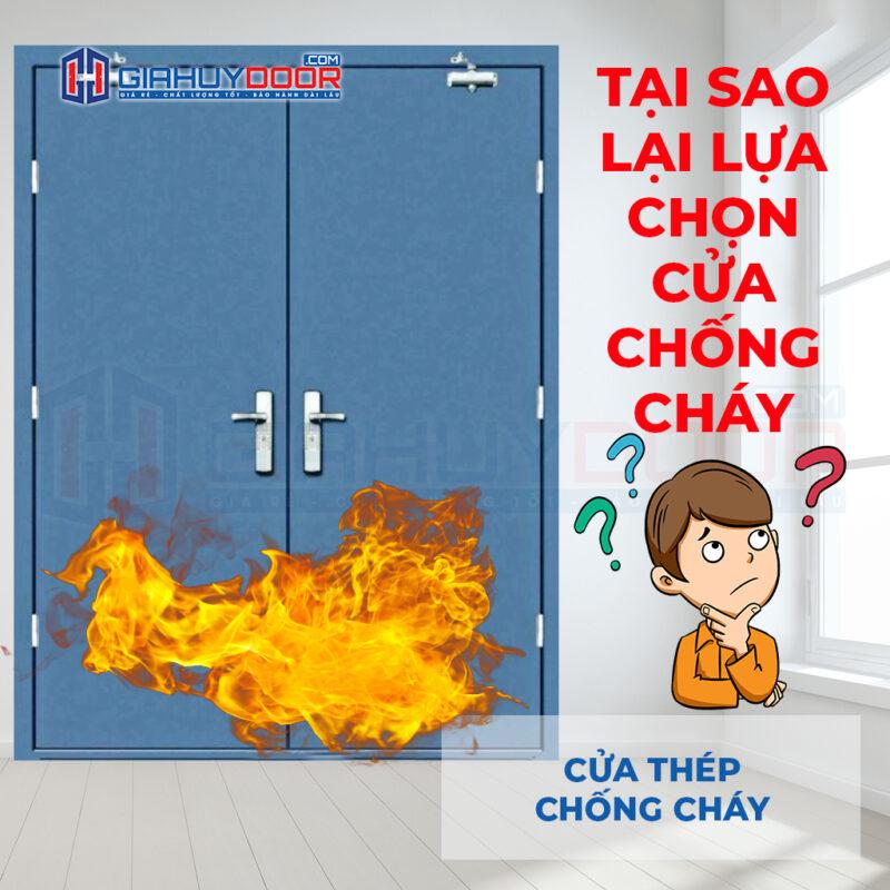 Lý do nên chọn lựa cửa chống cháy