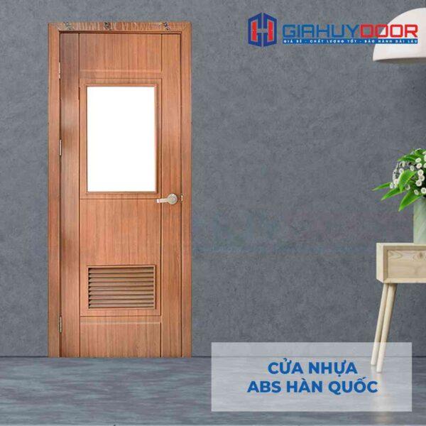 Cửa nhựa ABS Hàn Quốc KOS 203GL-W0901