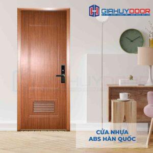 Cửa nhựa ABS Hàn Quốc KOS 609L-W0901