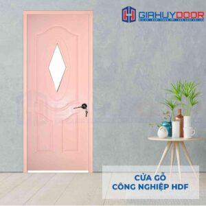 Cửa gỗ công nghiệp HDF 3AGL-C4