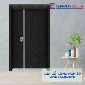 Cửa gỗ công nghiệp MDF Laminate 2P1R3s