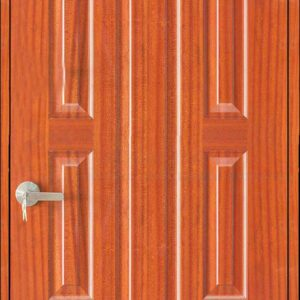 Cửa gỗ công nghiệp HDF Veneer 19-Sapele