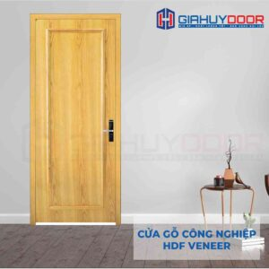 Cửa gỗ công nghiệp HDF Veneer 1B-Soi