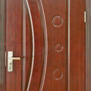 Cửa gỗ công nghiệp HDF Veneer 1K cam xe (2)