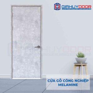Cửa gỗ công nghiệp MDF Melamine P1 van kem