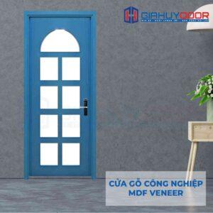 Cửa gỗ công nghiệp MDF Veneer P1G9 xanh da troi (2)