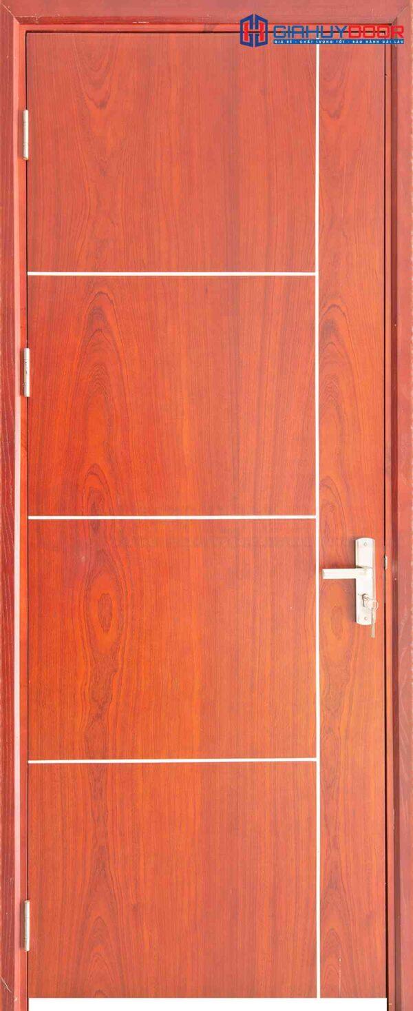 Cửa gỗ công nghiệp MDF Veneer P1R4b xoan dao (2)