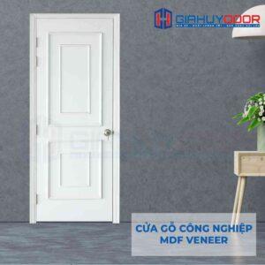 Cửa gỗ công nghiệp MDF Veneer O4-C1 phao chi