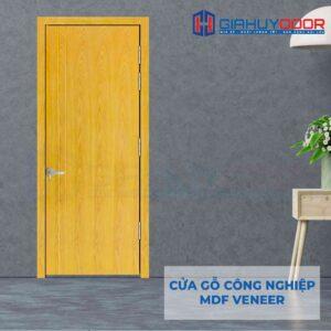 Cửa gỗ công nghiệp MDF Veneer P1R2 ash