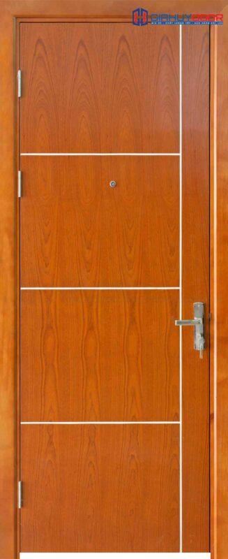 Cửa gỗ công nghiệp MDF Veneer P1R4-xoan dao
