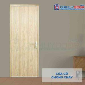 Cửa gỗ chống cháy GCC MDF Laminate P1R2 23029