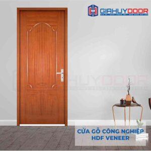 Cửa gỗ công nghiệp HDF Veneer 2A xoan dao (lum)
