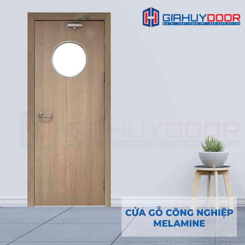 Báo giá cửa gỗ công nghiệp MDF phủ Melamine