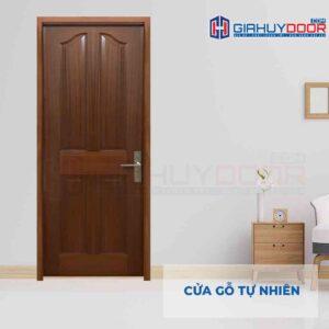 Cửa gỗ tự nhiên GTT 4A oc cho