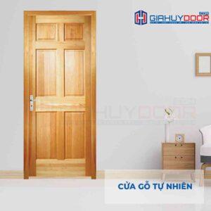 Cửa gỗ tự nhiên GTT 6A Ash sang