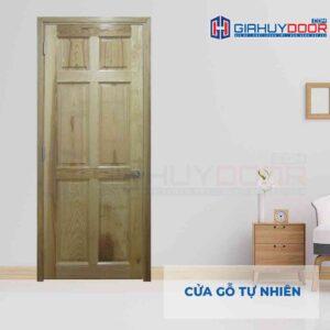 Cửa gỗ tự nhiên GTT 6A soi