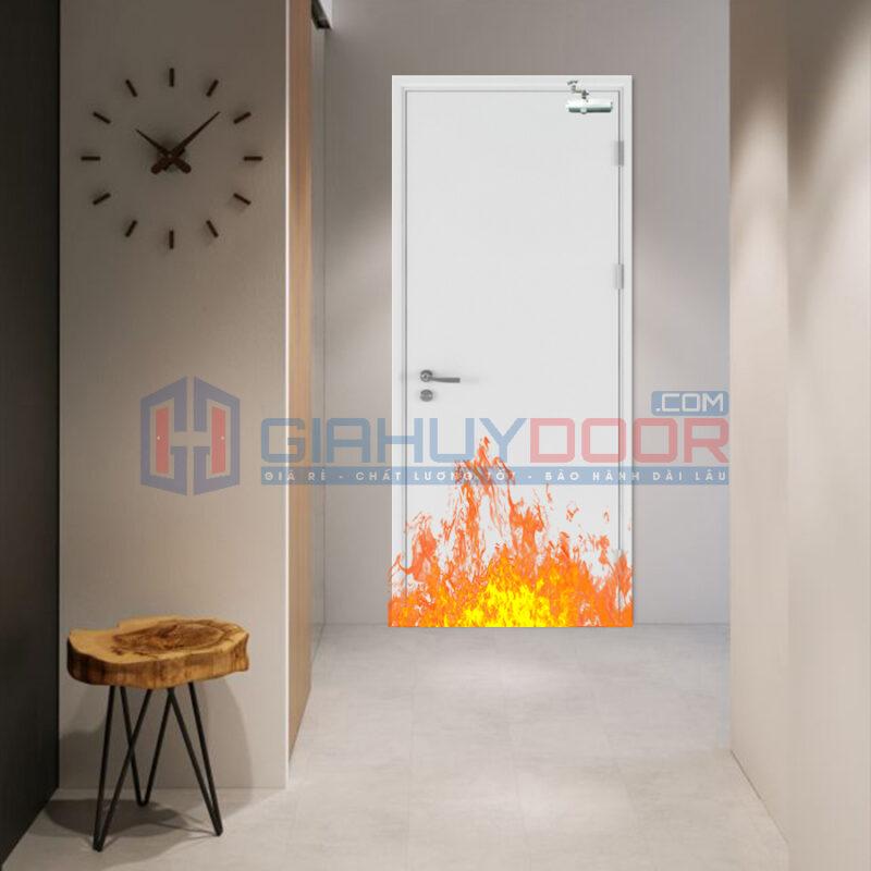 Lưu ý khi mua cửa thép chống cháy: