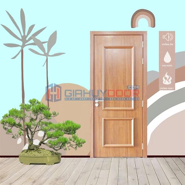 Ứng dụng cửa nhựa gỗ Composte