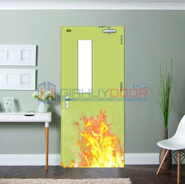 Cửa thép chống cháy được sử dụng phổ biến nhiều nơi: