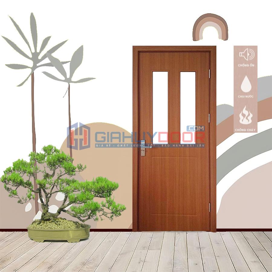 Giahuydoor - địa chỉ báo giá cửa nhựa gỗ composite